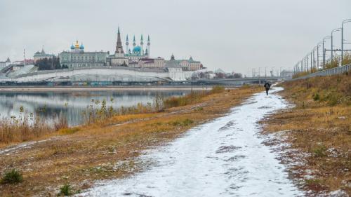 Первый снег и теплая аномалия: погода прокатит татарстанцев на «температурных качелях»