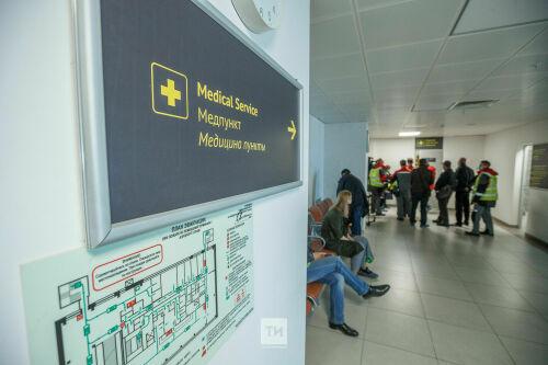 Cотрудники аэропорта «Казань» привились от коронавируса