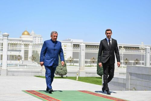 Рустам Минниханов провел переговоры с Президентом Туркменистана