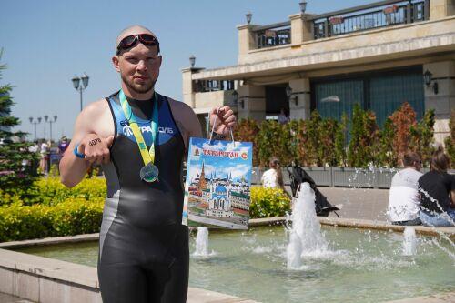 Истории триатлона: триатлет с ДЦП в Казани преодолел морскую милю