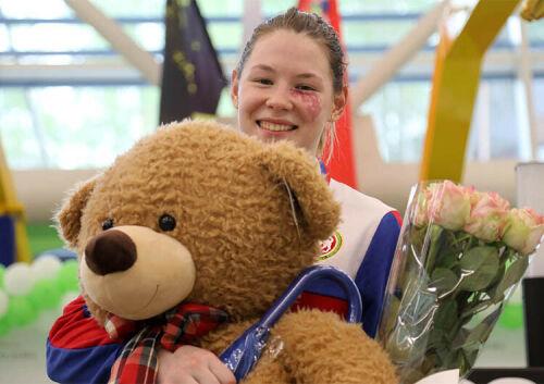 «Супер Марта»: Первое золото Татарстану на Играх в Токио принесла фехтовальщица из Казани
