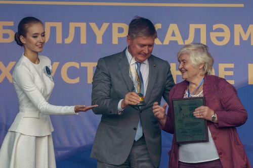 Гран-при конкурса «Хрустальное перо» взяла главный редактор газеты «Казанские истории»