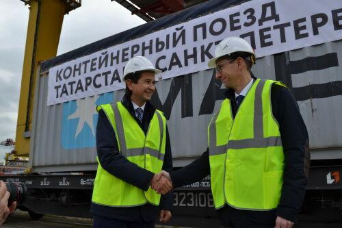 Абдулганиев: «Татарстан включился в международную сеть грузовых контейнерных перевозок»