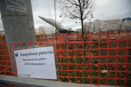 «Водоканал» провел пресс-тур, посвящённый проблемам сетей водоснабжения и канализования Казани