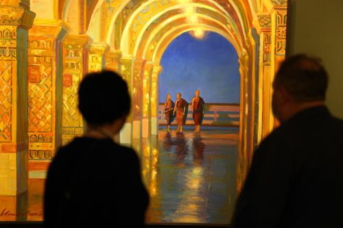 Выставка «Стрела времени» открылась в галерее «Хазинэ»