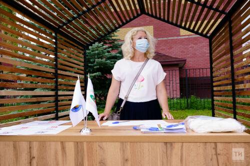 Презентация площадки для сбора подписей и работы с избирателями в Зеленодольске