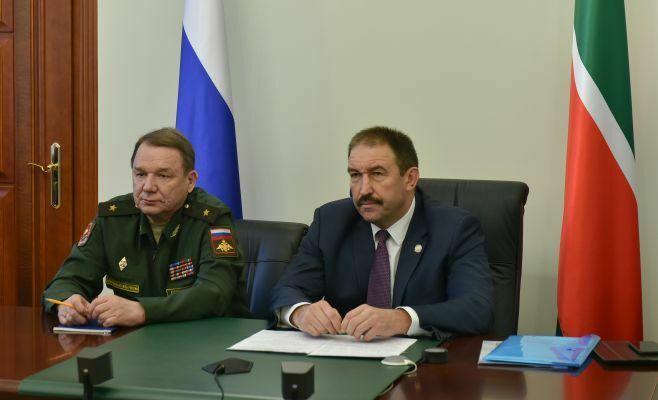Татарстан в лидерах по организации и проведению осеннего призыва 2016 года в России