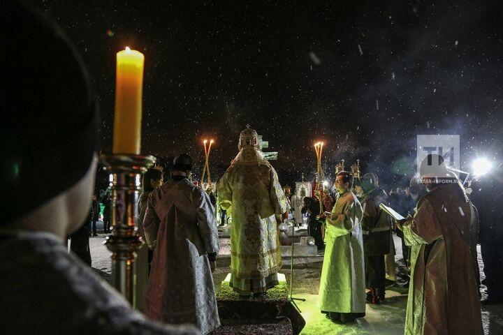 На литургии в честь Крещения митрополит Феофан призвал беречь мир и согласие в РТ