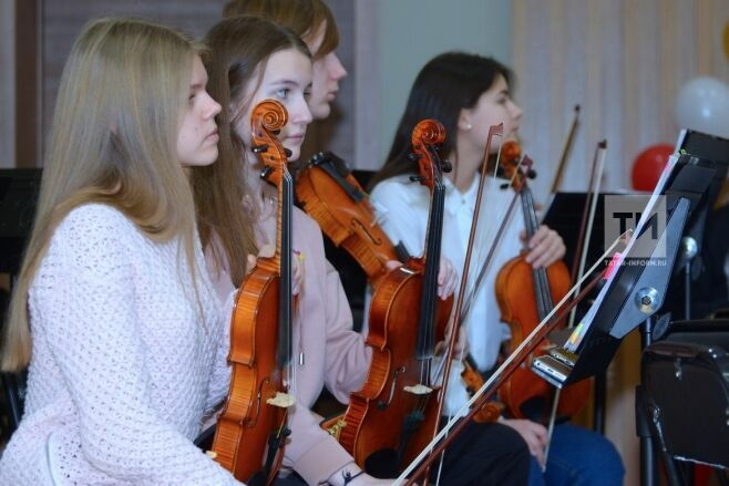 В Казани планируют создать детский симфонический оркестр
