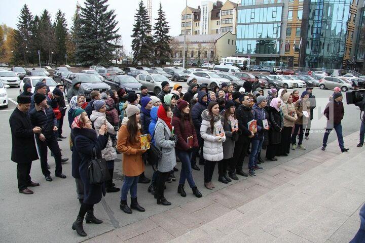 Участник акции в защиту татарского языка: Депутаты должны поднять проблему, волнующую общественность