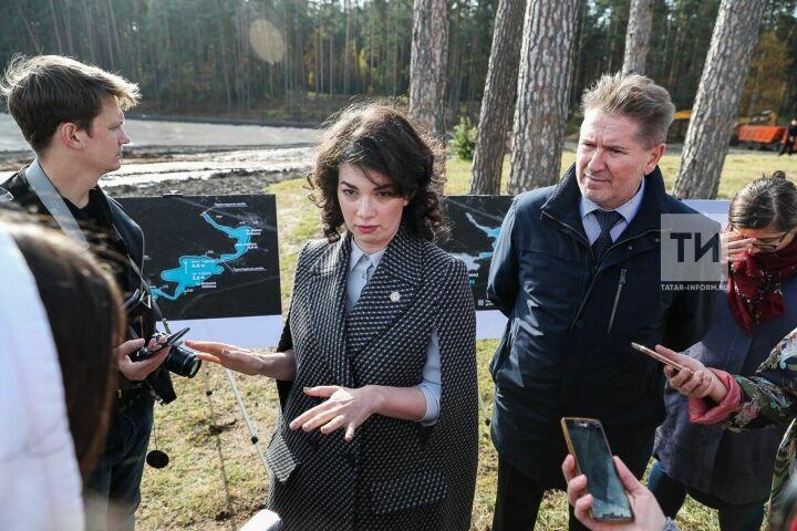 Наталия Фишман: Уже в следующем году в Лебяжьем можно будет купаться
