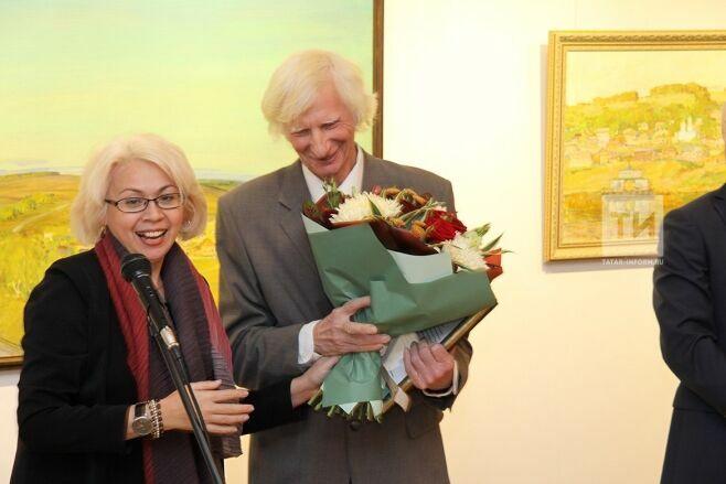 В Казани открылась выставка Александра Иншакова