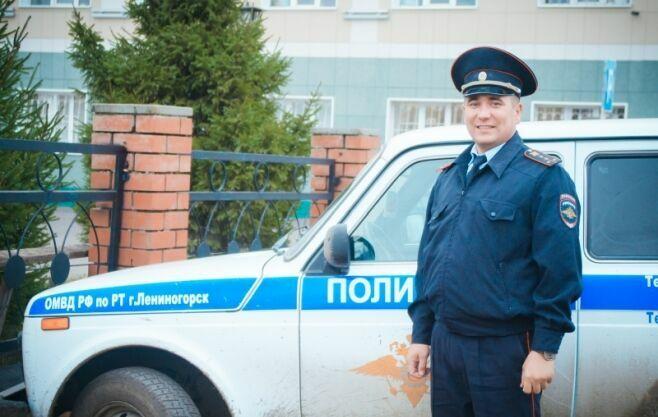 Татарстанец стал Народным участковым РФ