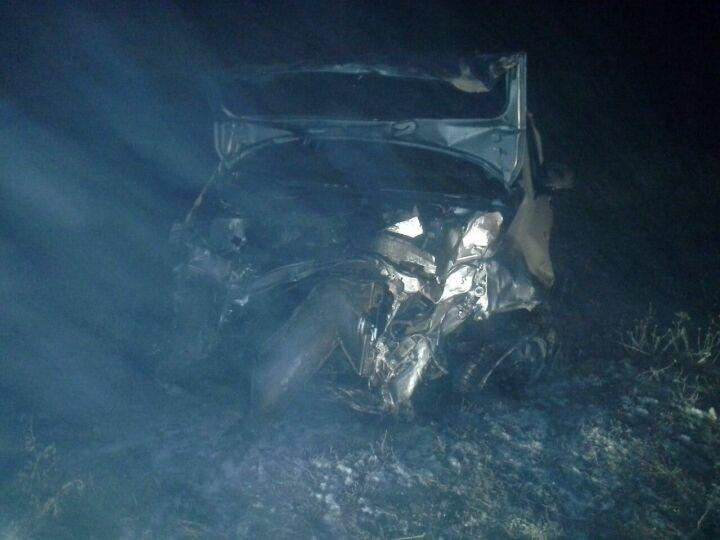 Фото: в ДТП в Тюлячинском районе в съехавшем в кювет авто погиб человек