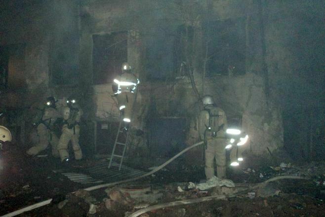 В Вахитовском районе Казани горел исторический памятник – Дом Свешникова