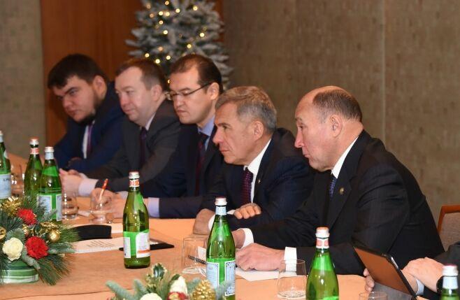 Миннихановпредложил итальянским партнерам создать откормочные площадки для скота в Татарстане