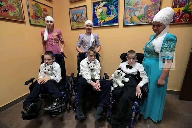Особенные дети из 17 коррекционных школ Татарстана продемонстрировали свои таланты