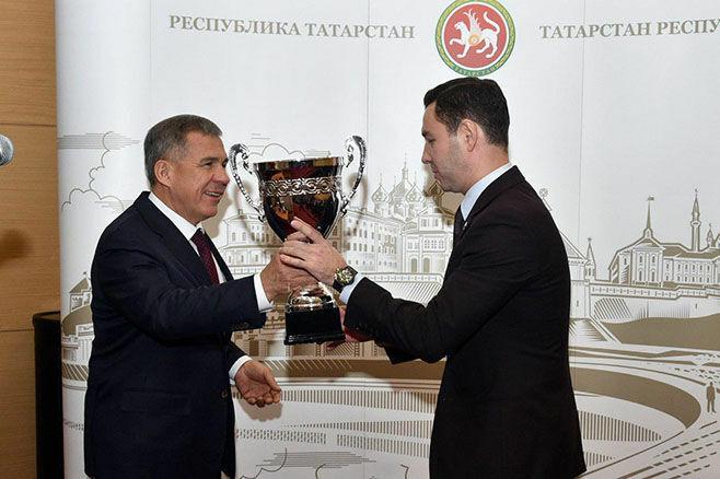 Аппарат Президента РТ победил в спартакиаде госслужащих