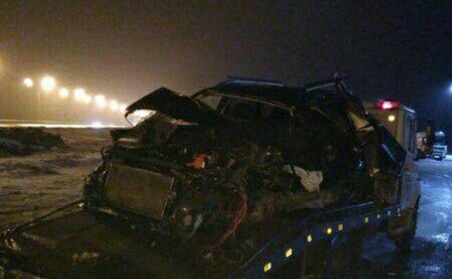В Алексеевском районе погиб водитель перевернувшейся иномарки