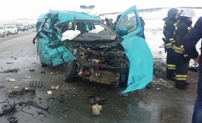 В ДТП под Саратовом погибли пять человек