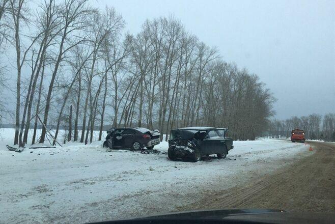 Три человека погибли и два пострадали в аварии под Ульяновском