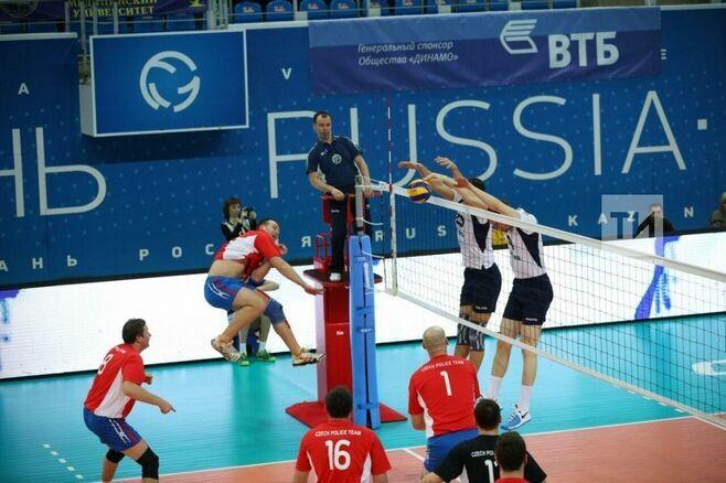 Российские волейболисты с победы стартовали в отборе на чемпионат Европы среди полицейских