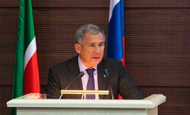 Рустам Минниханов стал четвертым в медиарейтинге глав регионов России