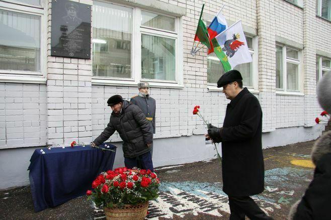 Казанскую школу № 113 назвали в честь погибшего в Сирии военного