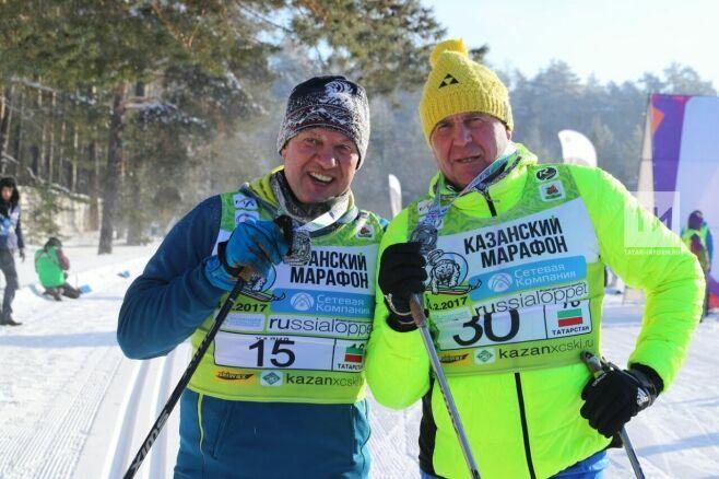 Четырехкратный олимпийский чемпион Николай Зимятов стал участником Казанского лыжного марафона