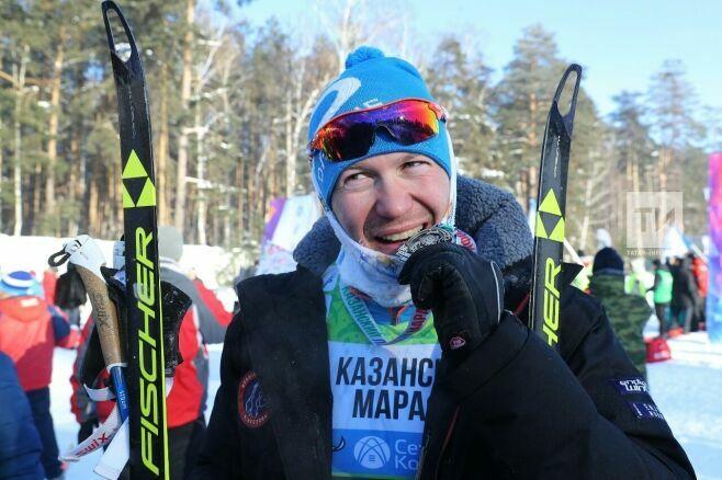 Михаил Девятьяров-младший стал победителем Казанского лыжного марафона