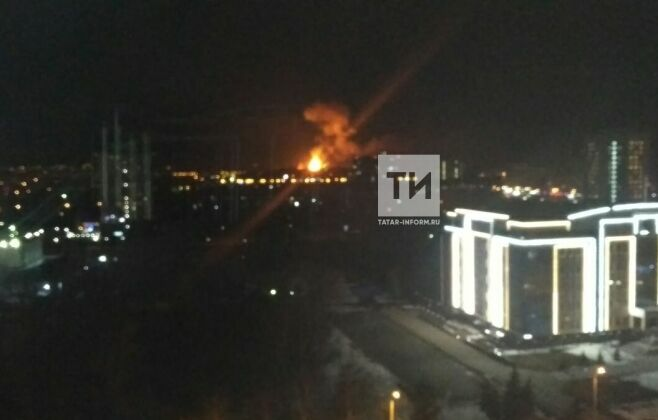 Фото: В районе Порохового завода в Казани произошел сильный хлопок