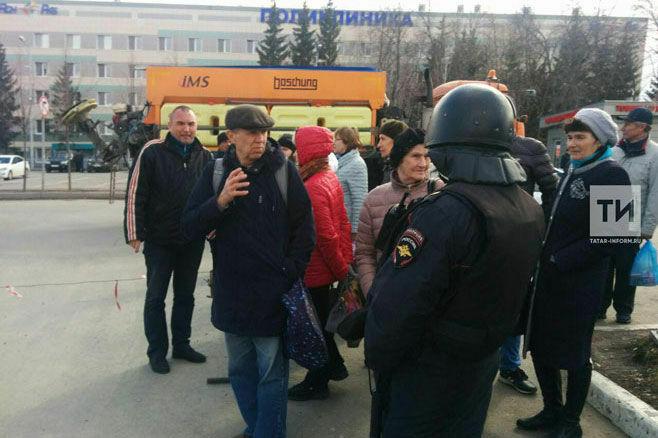 Сумка с горохом стала причиной переполоха на Южном вокзале в Казани