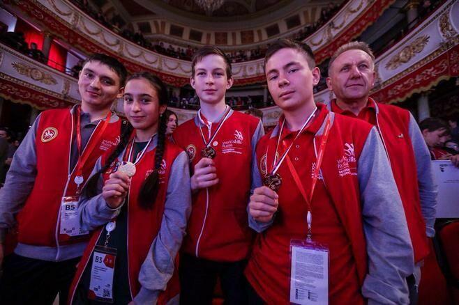 Татарстан занял второе место в III национальном чемпионате JuniorSkills