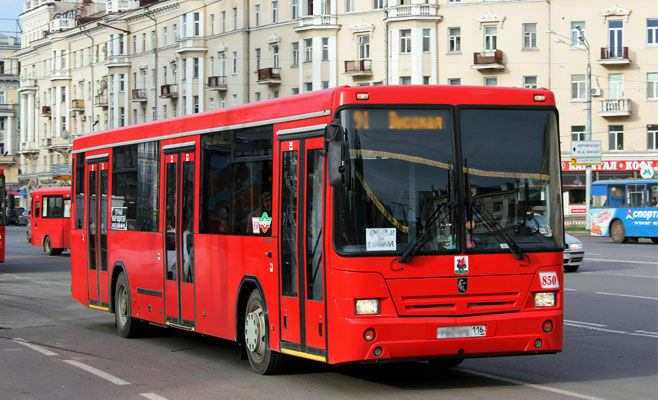 В Казани в дни матчей Кубка конфедераций изменится траектория 20 маршрутов общественного транспорта