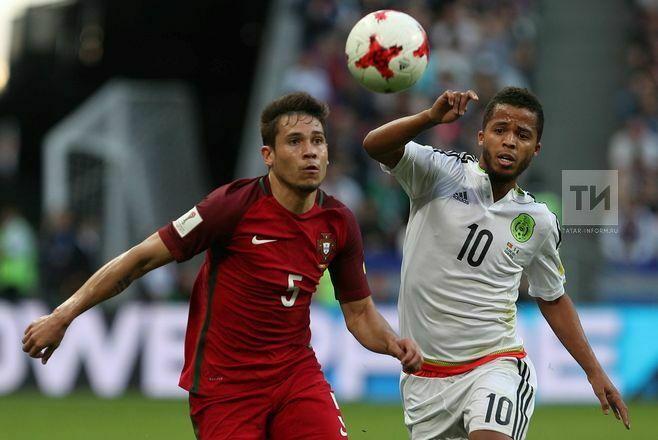 Португалия и Мексика сыграли вничью в матче Кубка конфедераций в Казани