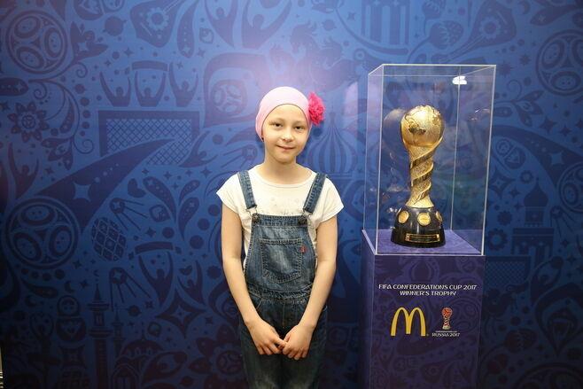 Пациенты ДРКБ получат билеты на футбольный матч Россия – Мексика