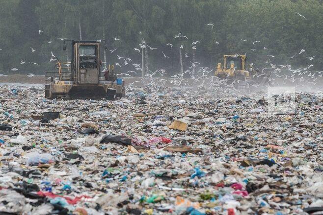 Мусорный полигон «Восточный» в Казани ежедневно принимает до 220 машин с 1 тыс. тонн отходов
