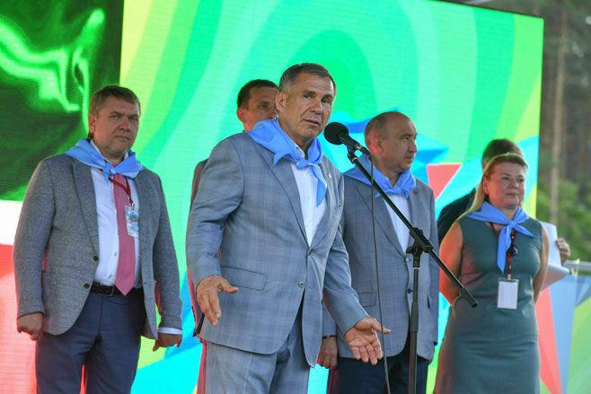 В Альметьевском районе стартовала IV республиканская олимпиада юных геологов