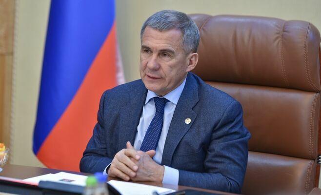 Рустам Минниханов принес соболезнования губернатору Самарской области в связи с ДТП под Заинском