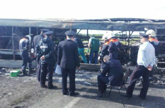 Водителю автобуса, попавшему в смертельное ДТП под Заинском, заочно продлили срок задержания