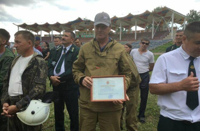 Лучшим лесным пожарным Татарстана-2017 стал представитель Сабинского лесхоза