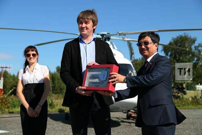 Казанский вертолетный завод передал вэксплуатацию двановых медицинских вертолета