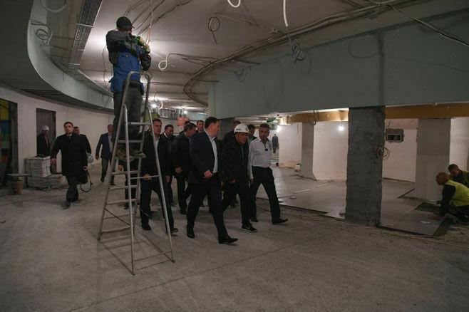 После визита Президента РТ на ремонт Казанского цирка направили пять дополнительных бригад рабочих
