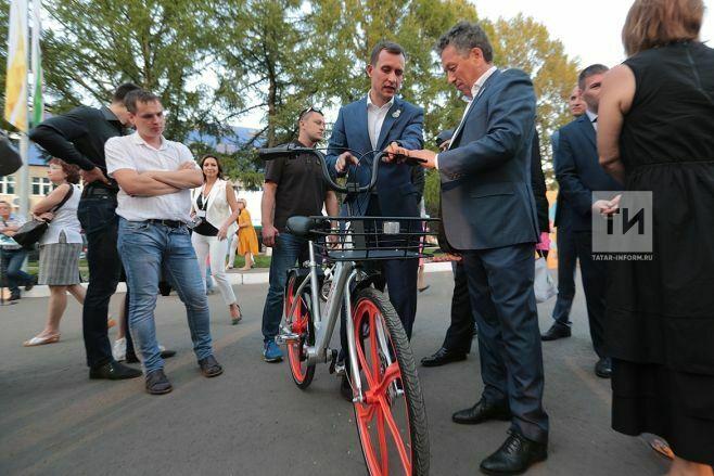 В Альметьевске запустят социальный проект по прокату велосипедов