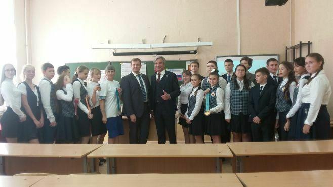 Активисты ОНФ провели уроки «Россия, устремленная в будущее» в школах Татарстана