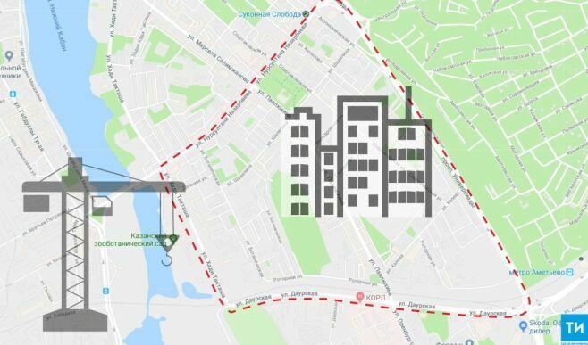 В Казани советскую застройку от Роторной до Павлюхина готовят к тотальной реновации