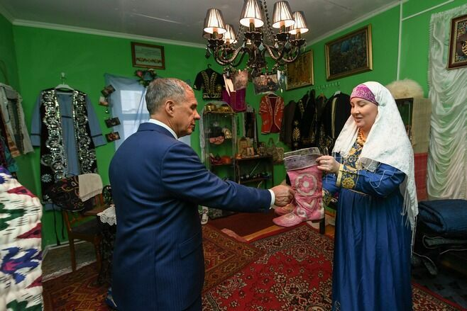 Президент Татарстана назвал Дом-музей Марджани лицом Казани