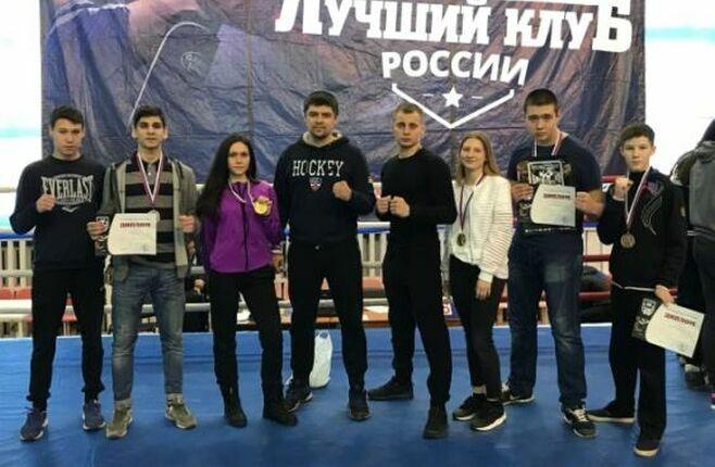 Спортсмены из Альметьевска отличились на соревнованиях по кикбоксингу в Туймазах
