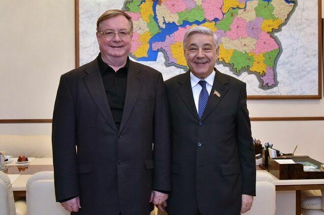 Мухаметшин: С деятельностью Степашина связаны многие начинания в Татарстане