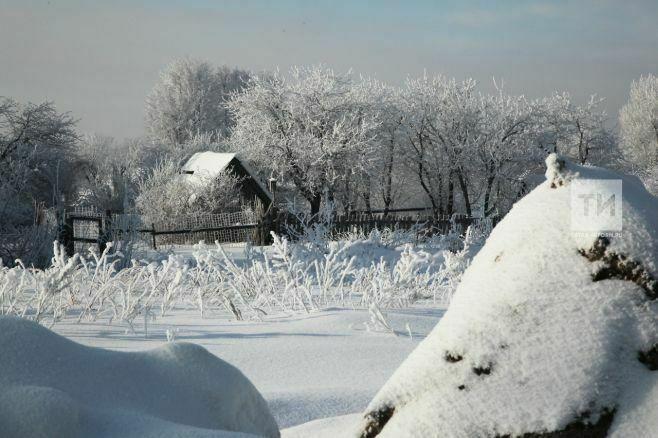 Синоптики Татарстана предупреждают о похолодании до 26 градусов мороза